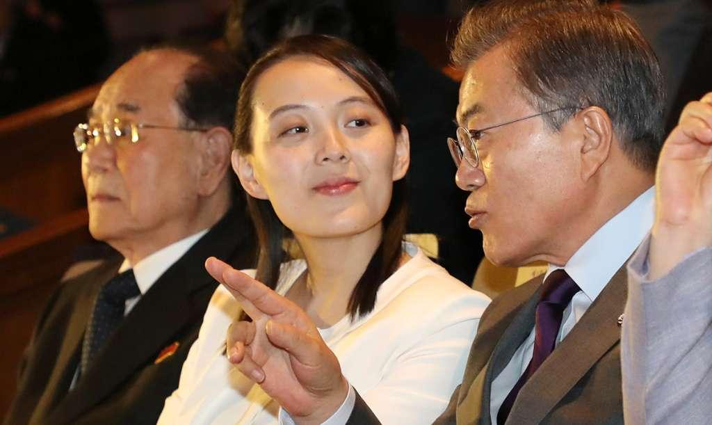 La delegación norcoreana, encabezada por Kim Yo-Jong, hermana del dictador Kim Jong-un terminó la primera visita de un miembro de la dinastía Kim al vecino del sur