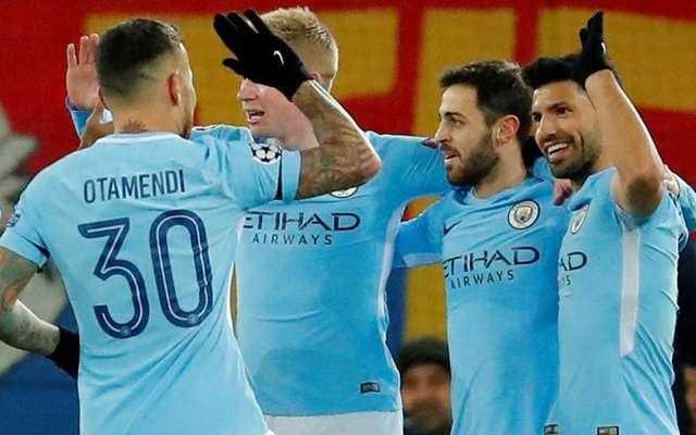 El Manchester City cumplió los pronósticos y sentenció su eliminatoria con el Basilea al golearlo a domicilio 4-0 en la ida de los octavos de final de la Champions