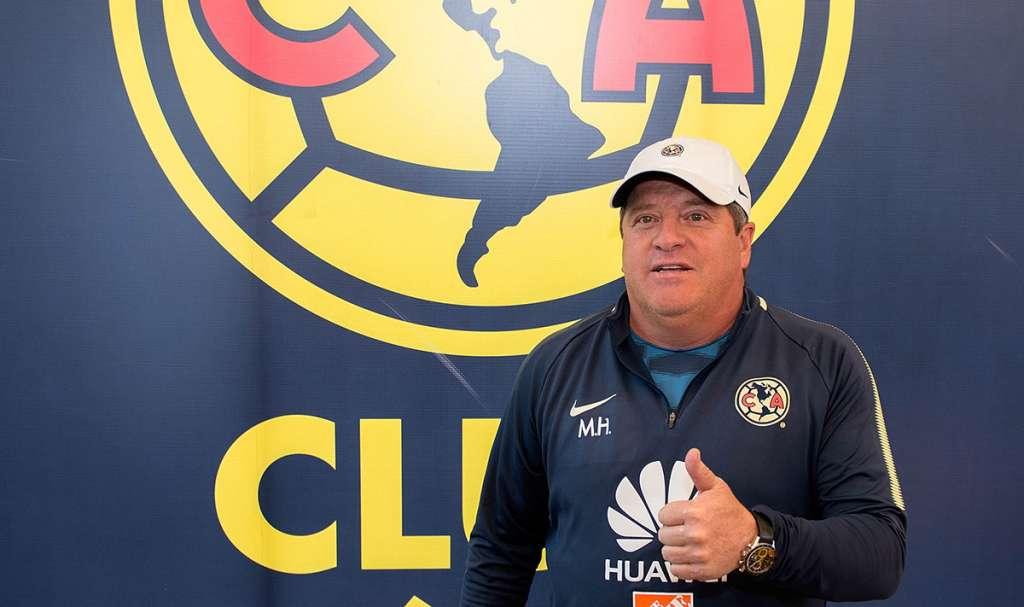 Miguel Herrera, técnico de las Águilas del América, aseguró que su equipo alcanzará su máximo desempeño en un par de jornadas