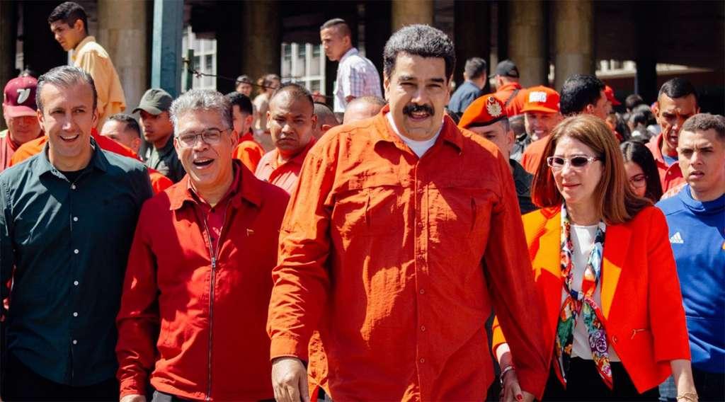 Maduro dedicó