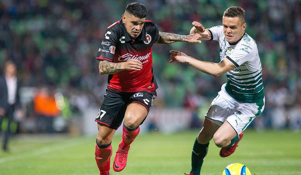 Santos Laguna y Xolos de Tijuana igualaron sin goles en Torreón, en partido poco atractivo; Xolos suma 450 minutos sin permitir anotación