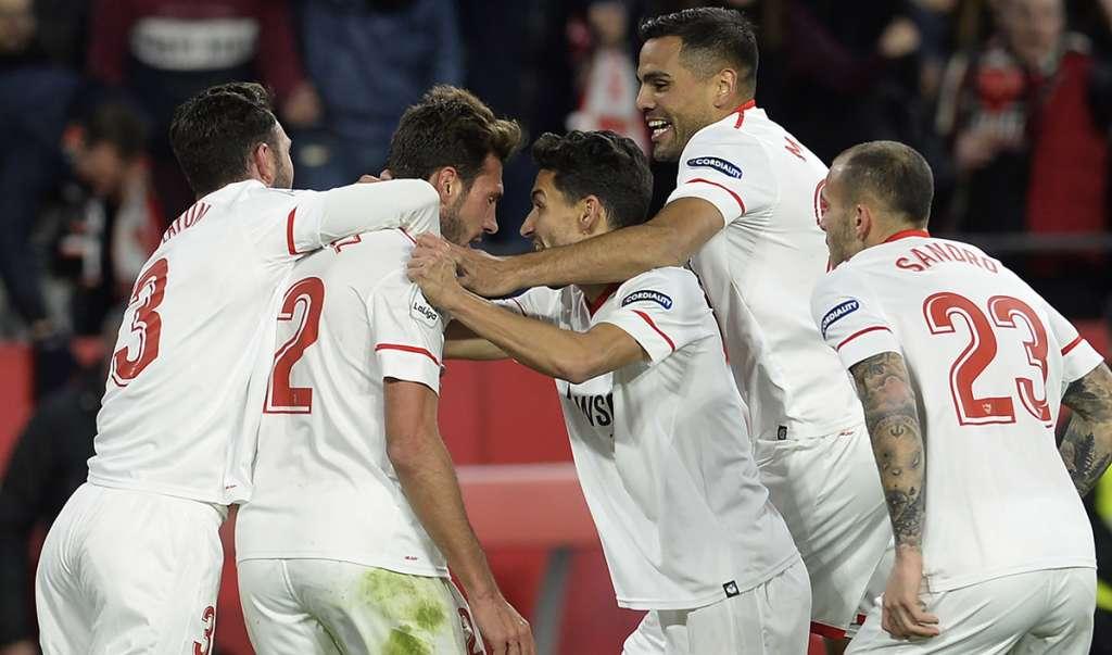 El Sevilla venció 2-0 (3-1 global) al Leganés en las semifinales de la Copa del Rey y jugará la novena final del torneo real en su historia