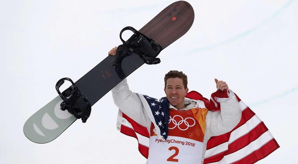 El estadounidense Shaun White, campeón olímpico en Turín 2006 y Vancouver 2010, consiguió la medalla de oro en PyeongChang 2018