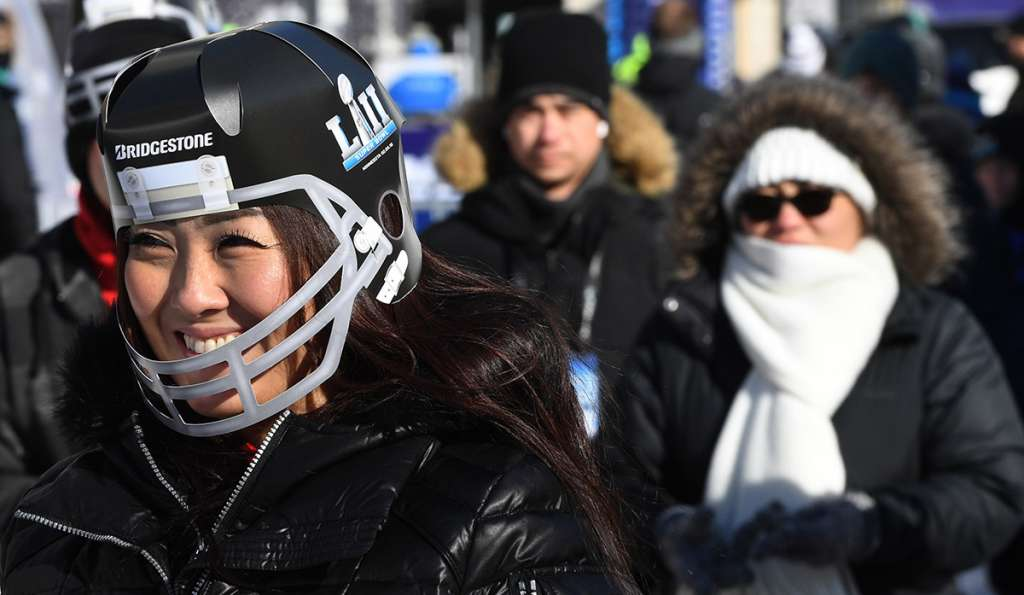 Aunque el SuperBowl LII se jugará bajo el techo del U.S. Bank, la temperatura de 16 grados bajo cero en Minnesota será la más baja registrada durante el gran partido