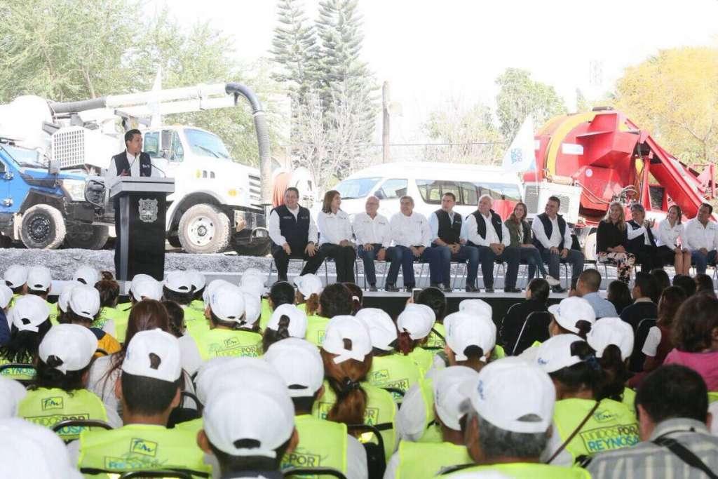 Anuncia Cabeza de Vaca más fondos para segunda etapa de Unidos por Reynosa