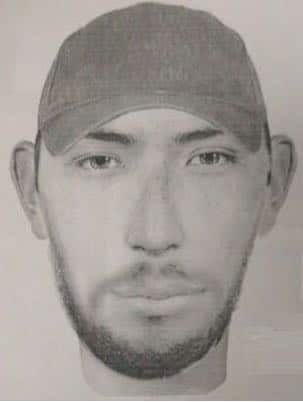 Difunden retrato hablado de sujeto que disparó en la UNAM