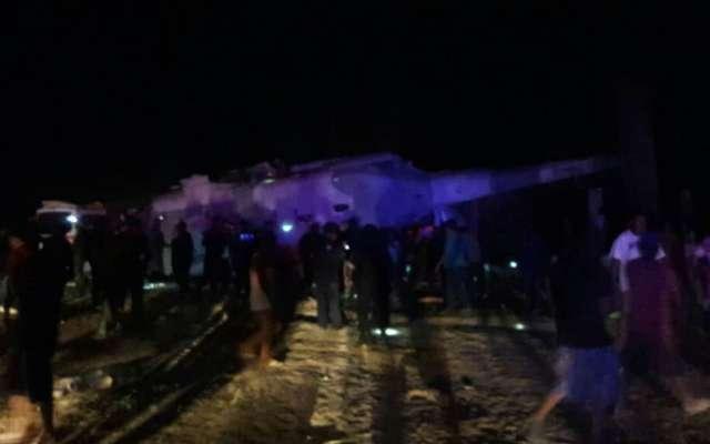 VIDEO: El momento exacto en que cae helicóptero de Navarrete y Murat