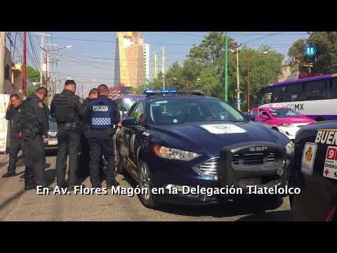 VIDEO: Detienen a presunto asaltante en Tlatelolco