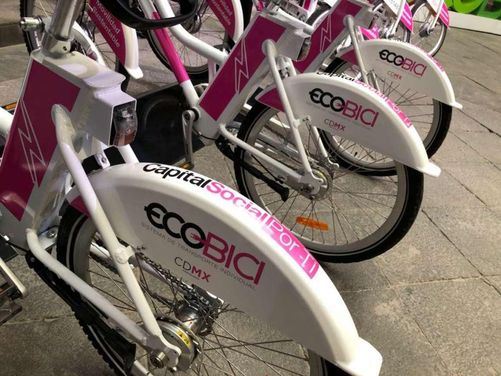 Inicia servicio de Ecobici con bicicletas eléctricas