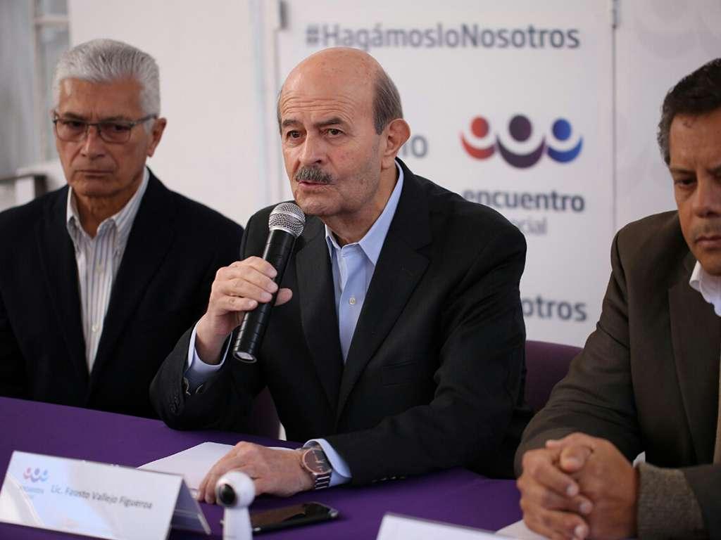 Fausto Vallejo regresa; ahora buscará alcaldía de Morelia por el PES-PT
