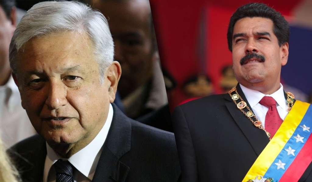 AMLO Nicolás Maduro