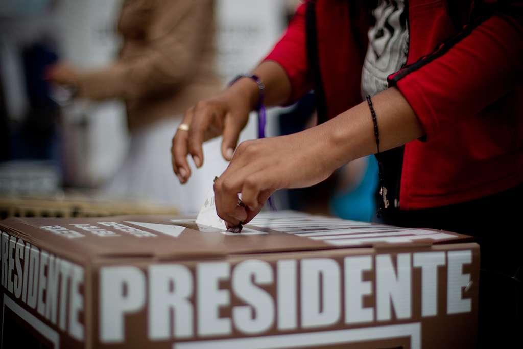 """""""Tiran"""" al INE intención de dar tendencias el día de la elección"""