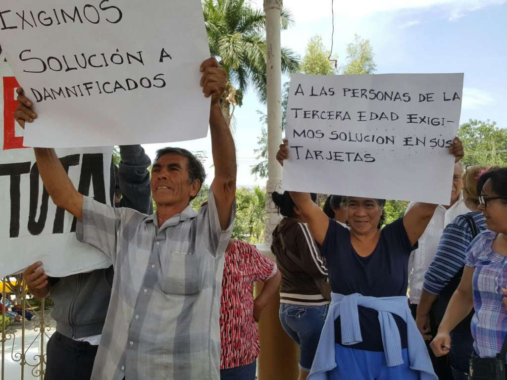 Jojutla: damnificados reclaman ayuda y no más engaños