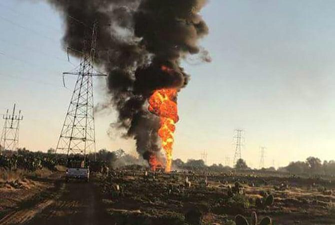 Toma clandestina causa explosión de ducto de Pemex en Edomex
