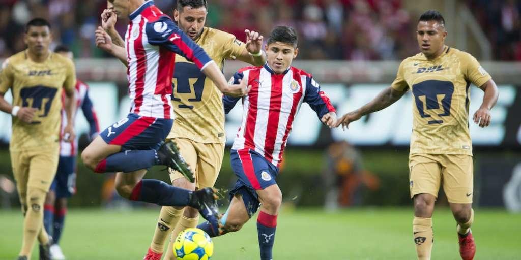 José Antonio Meade y Jorge Vergara apuestan previo al Pumas-Chivas