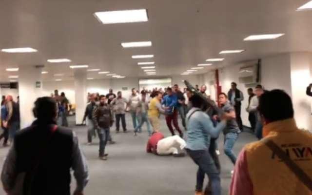 VIDEO: Circulan en redes imágenes de pelea en Consejo del PRD