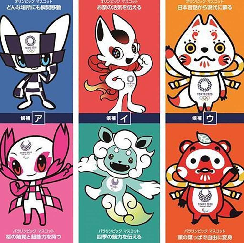 Ya Conoces A Las Mascotas De Los Juegos Olimpicos De Tokio 2020