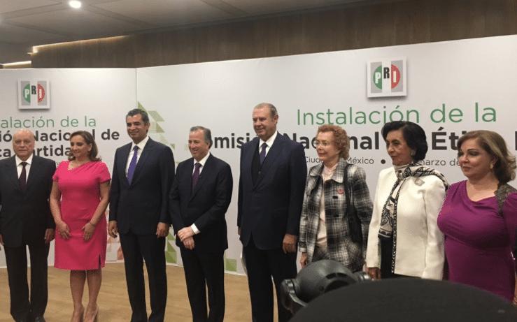 Anuncia José Antonio Meade Comisión de ética del PRI