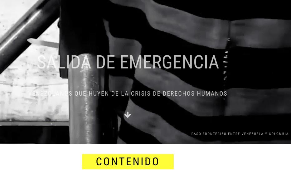 FOTO: Captura Web Amnistía Internacional