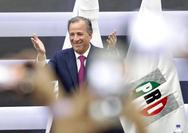 José Antonio Meade registra su candidatura a la presidencia de México