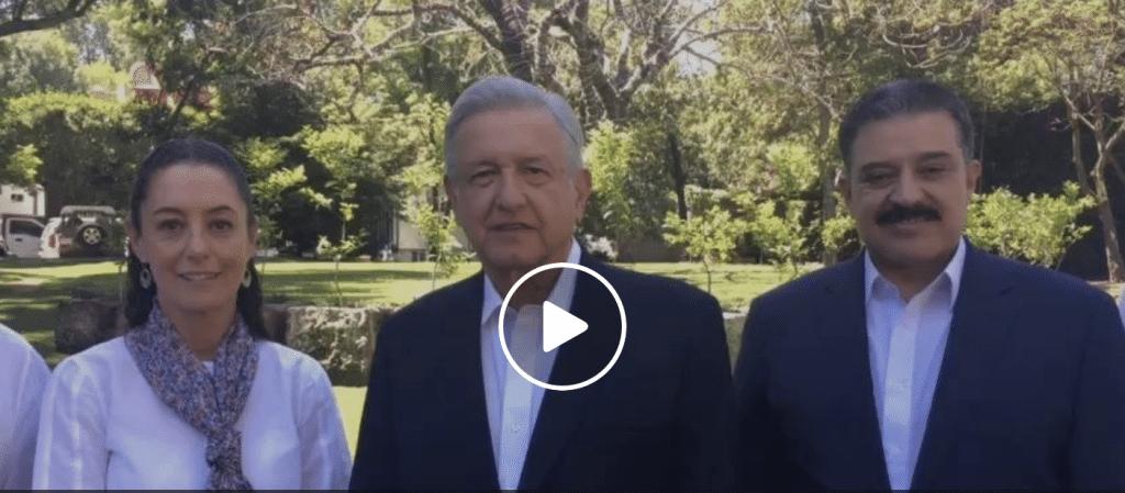 Presenta AMLO candidatos a gobernadores