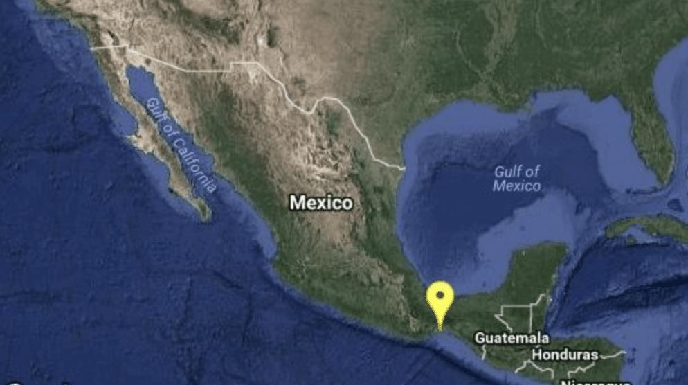 Registran sismo magnitud 4.5 al sureste de Juchitán, Oaxaca
