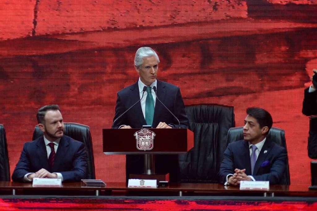 Construir gobierno confiable y transformar Edomex: Del Mazo