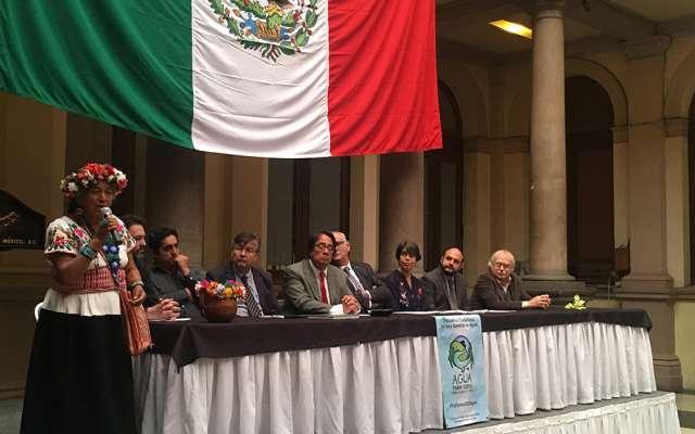 Integran Contraloría Ciudadana Autónoma del Agua en la CDMX