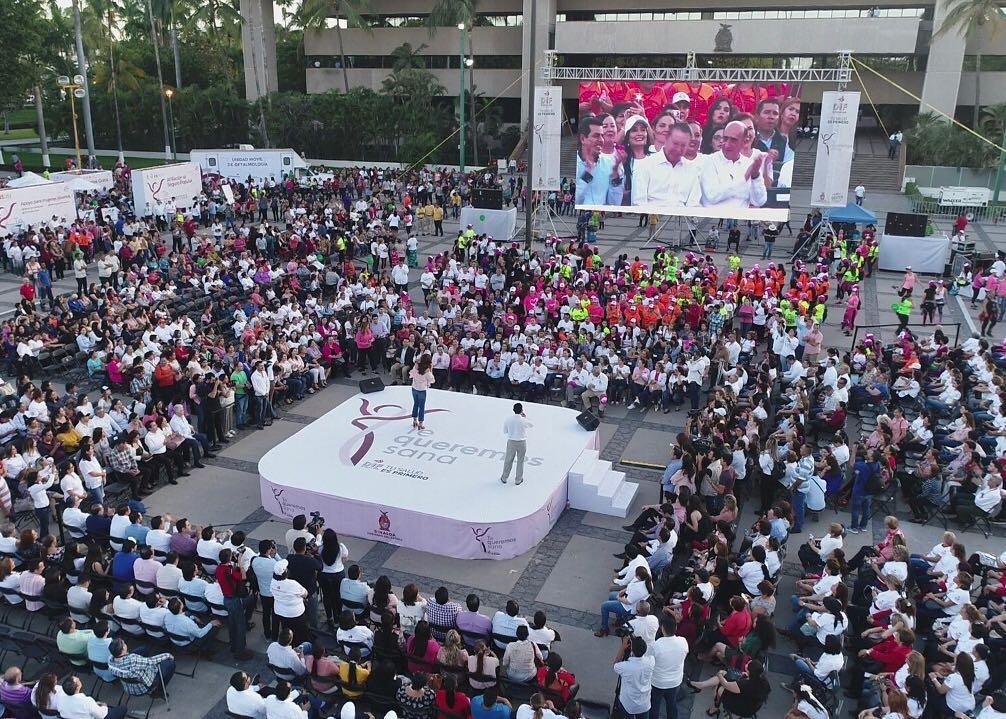"""Lanza DIF Sinaloa campaña """"Te Queremos Sana"""" para beneficiar a 100 mil mujeres"""