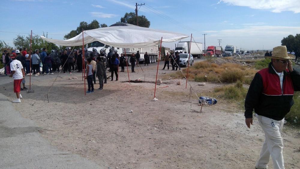 Protesta contra fábrica de cianuro en Durango termina en balacera