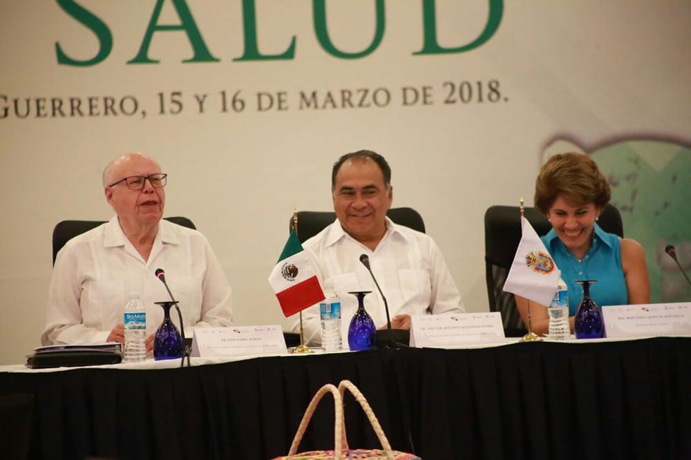 Héctor Astudillo y José Narro inauguran la 19 Reunión Ordinaria del Consejo Nacional de Salud