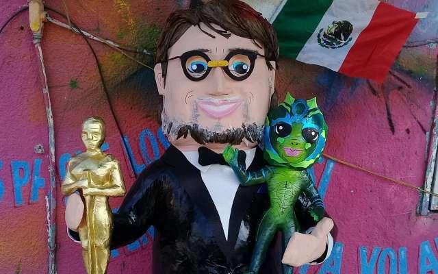 Guillermo Del Toro, ya tiene piñata