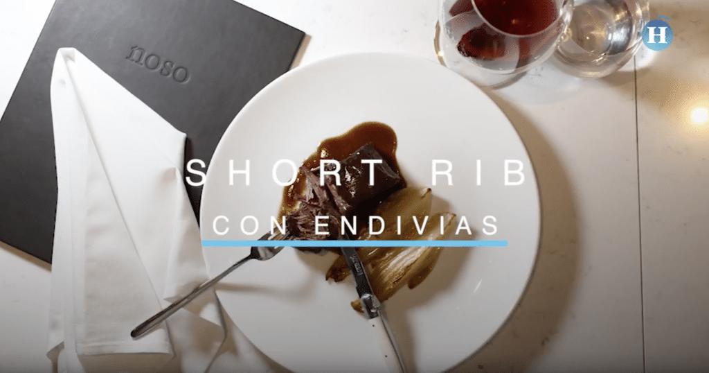 Tres recetas del restaurante Noso