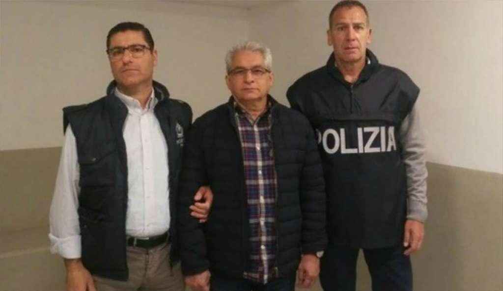FOTO: POLICÍA ITALIANA