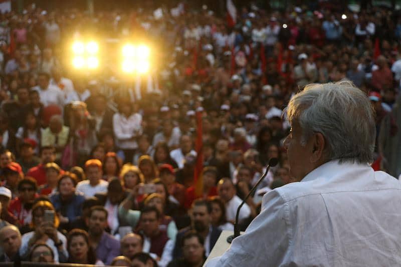 Elecciones 2108: AMLO coincide con Trump en elevar salarios a mexicanos