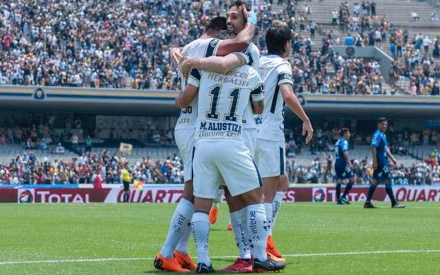 Pumas continúa en la pelea; ganan 4-2 a Puebla