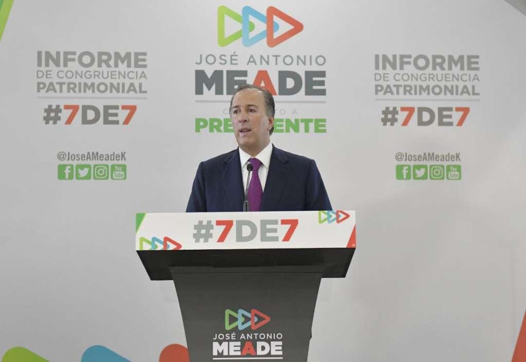 Meade presenta declaración 7 de 7