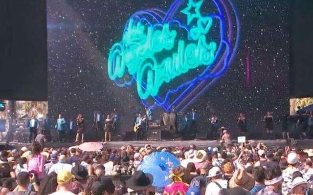 Los Ángeles Azules ponen a bailar al Coachella