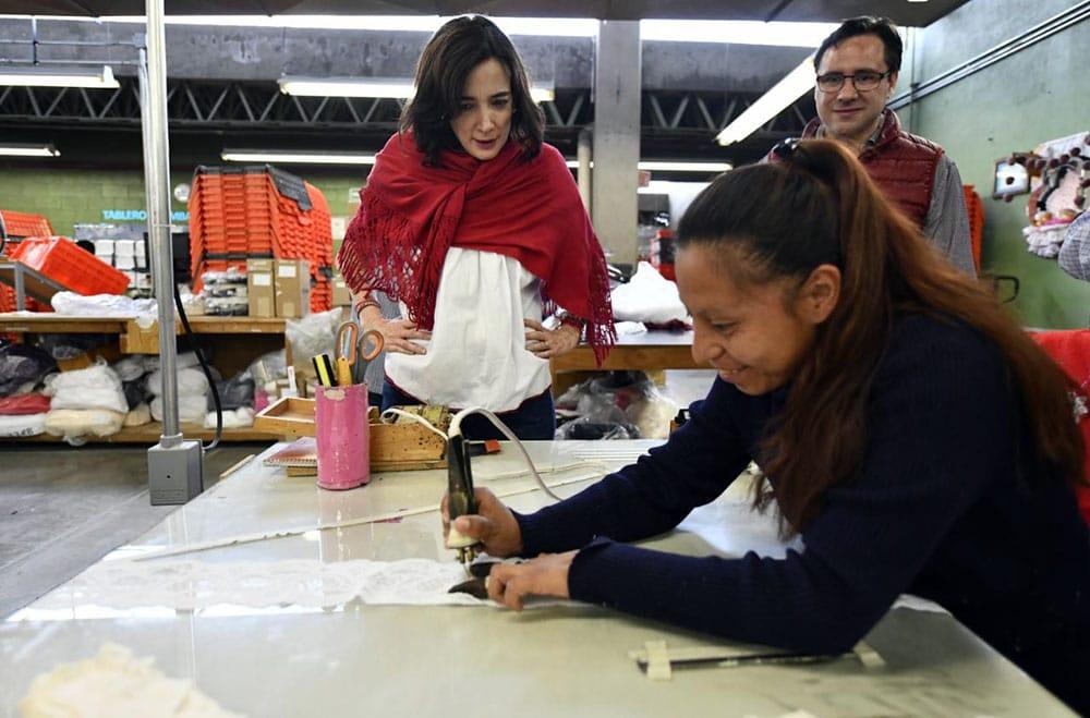 Meade impulsará la inclusión laboral: Juana Cuevas