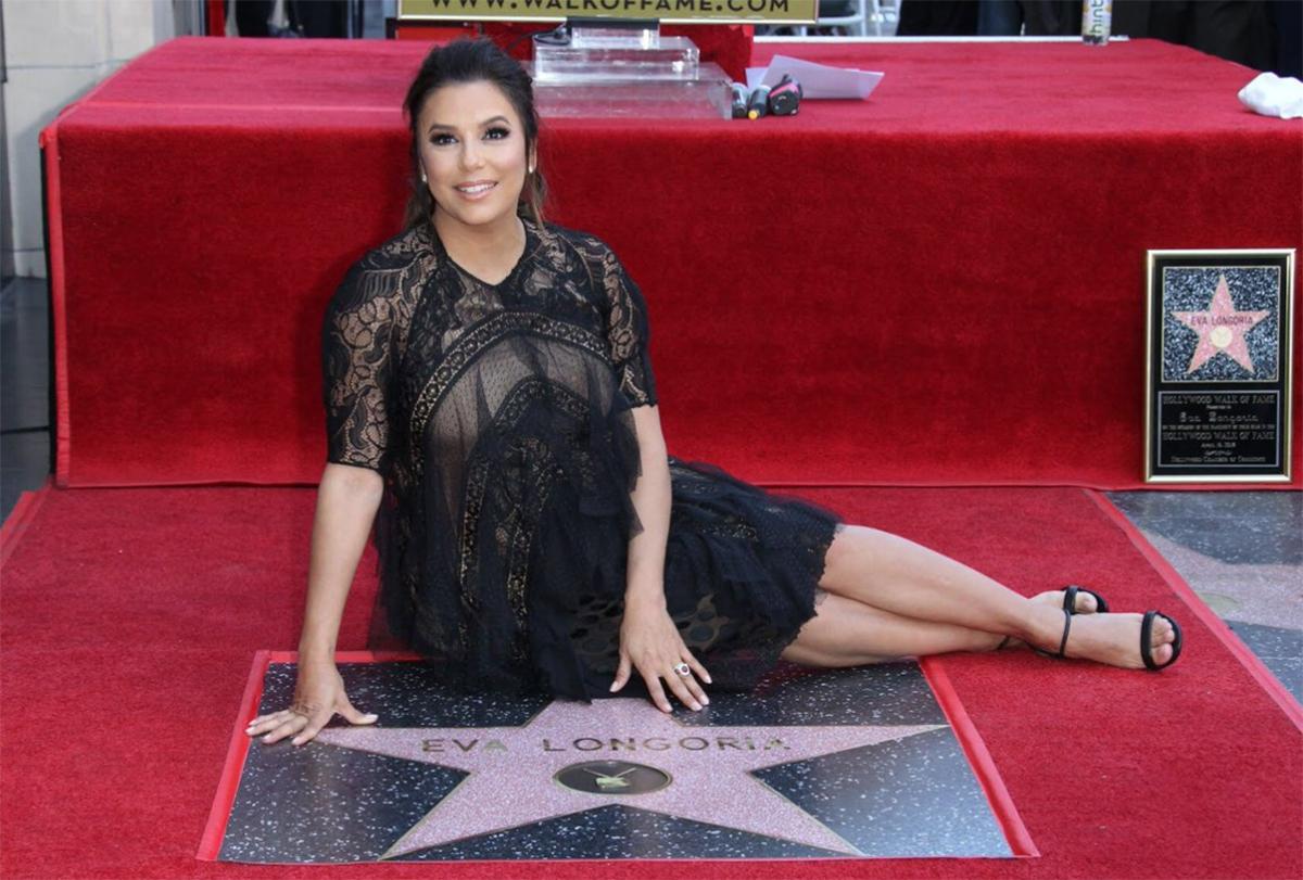 Eva Longoria ya tiene una estrella de la fama en Hollywood