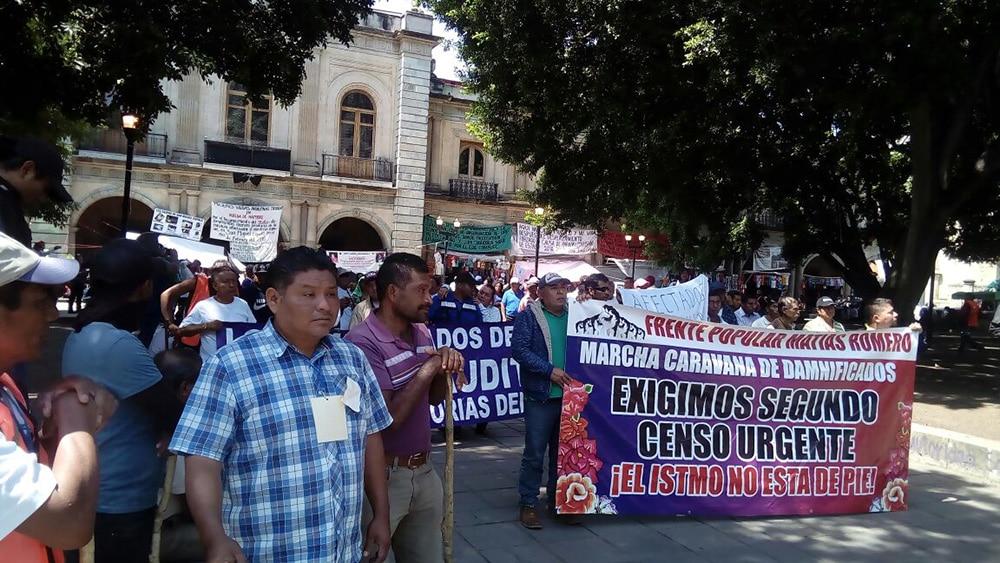 Damnificados del Istmo siguen en las calles tras sismos