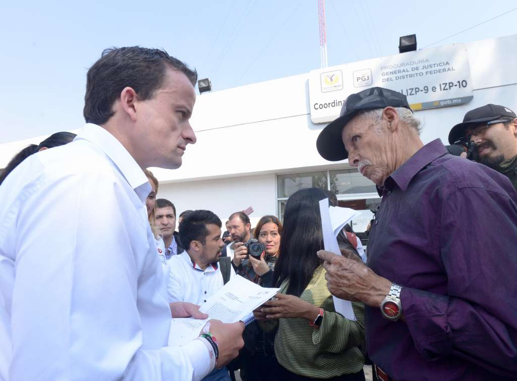 Mikel Arriola arremete contra ministerios públicos capitalinos