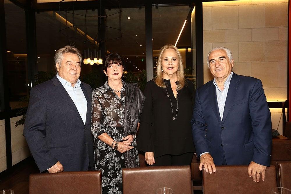 Rodolfo y Lourdes Ovejas, junto a Maricarmen y Ángel Losada. Fotos: Bernardo Coronel