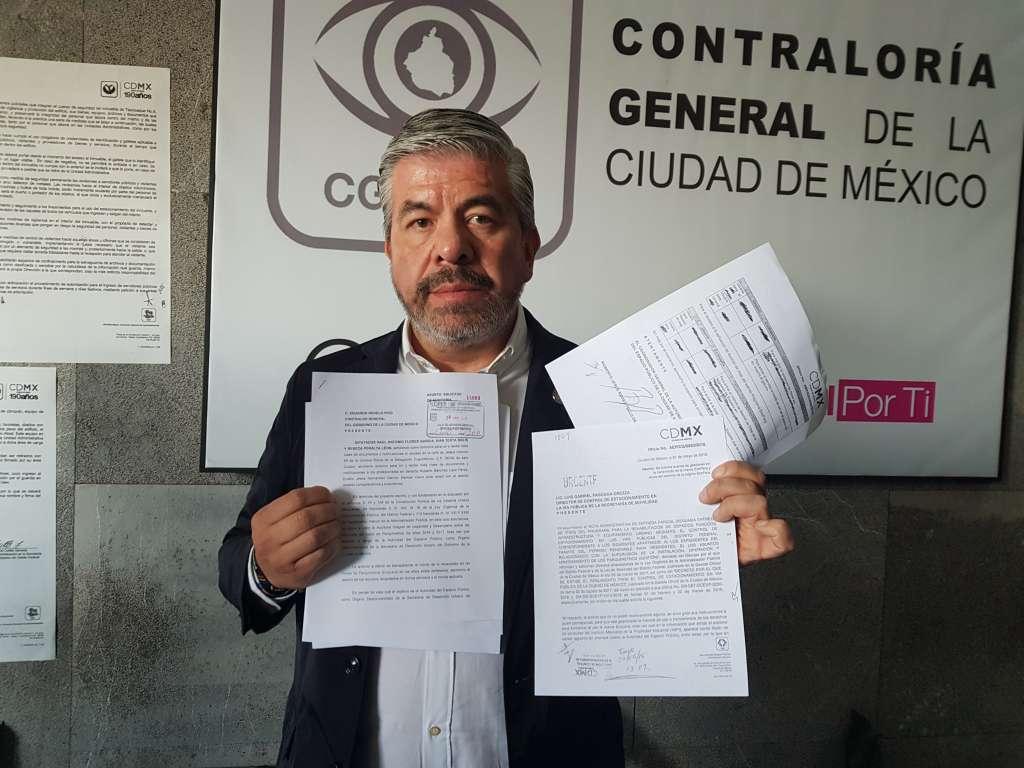 Pide Raúl Flores auditoría a recursos de parquímetros