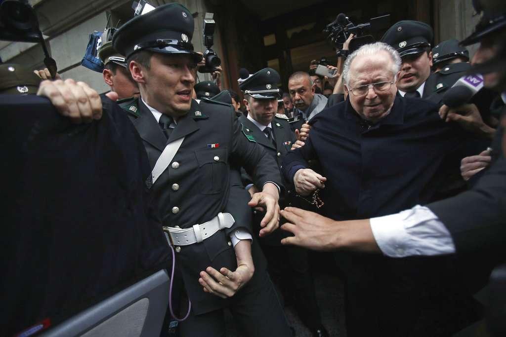 En la Imagen, Fernando Karadima. Foto: AP