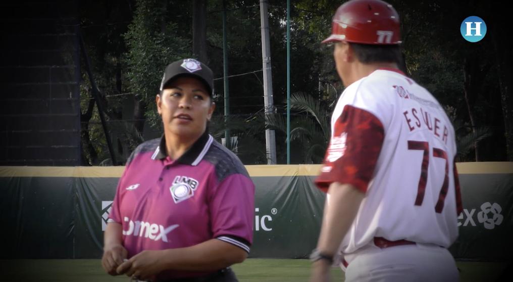 Luz Gordoa, la primera umpire mujer de la LMB