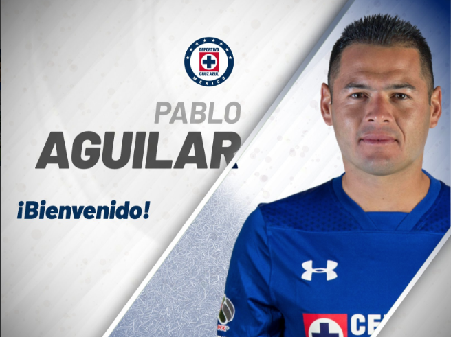 Cruz Azul anuncia llegada de Pablo Aguilar