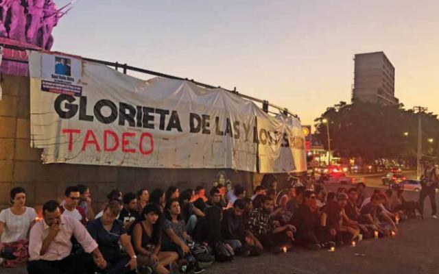La muerte del bebé Tadeo, víctima del tiroteo del lunes causó indignación
