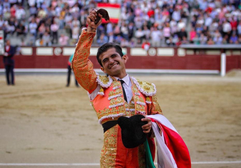 Joselito Adame corta oreja en Madrid