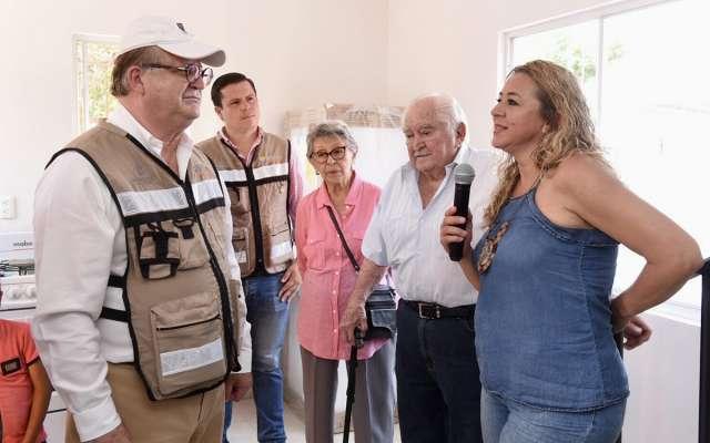 Entregan Fundación Carlos Slim y Unidos por Morelos las primeras viviendas a damnificados por sismo